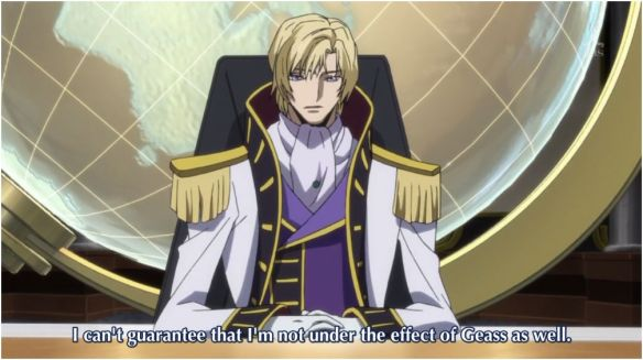 Code Geass R2 19 All Hail Schneizel Aka A Guide On How To Destroy The Enemy S Unity Aka How To Shove Love Triangle Jokes And Developement Into Moar Srs Bsness Within A
